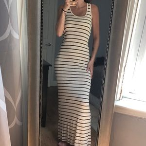 Zenana Outfitters Striped Maxi Dress